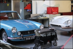 One of a dozen workshops specialising in maintnenance and the restoration of top end classic cars.
